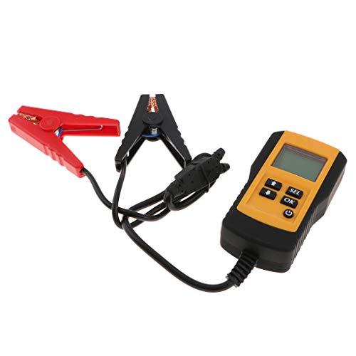 Homyl Probador de Alternador de Baterías para Coche - Amarillo 130x70x30mm