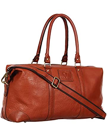 fbd50c3f5 Duffle Bags for Men and Women Brown | Genuine Leather | handmade |  Weekender Travel Bag