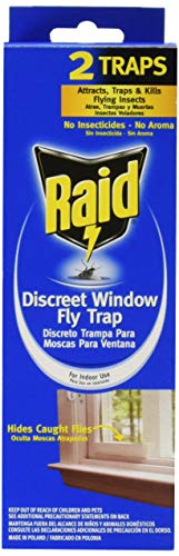 Raid, 2 Pack, Discreet Window Fly Trap