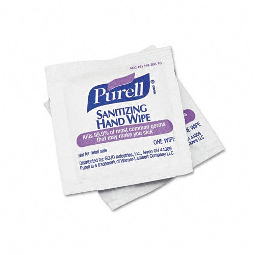 GOJO PURELL Premoistened Sanitizing Wipes