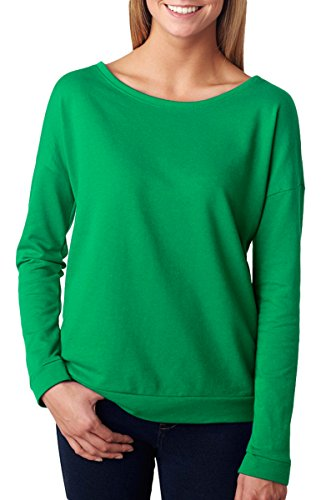 Next Level Apparel 6931 Lady The Terry Long-Sleeve Scoop - E