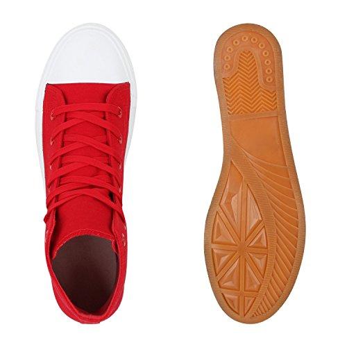 Flandell Baskets Tailles Bottes dessus Blanc Rouge Montantes Unisexe Au Paradis Hommes qRZwPxZO