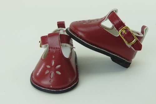 (Brown Mary Janes with Buckle BCS34)