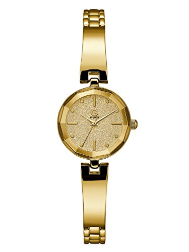 G-by-GUESS-Womens-Gold-Tone-Glitz-Watch