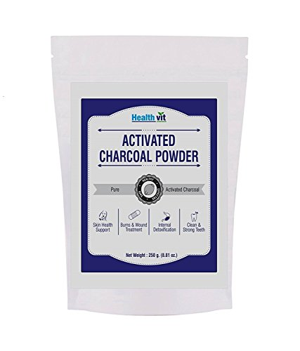 HealthVit Activated Charcoal Powder for Face Mask