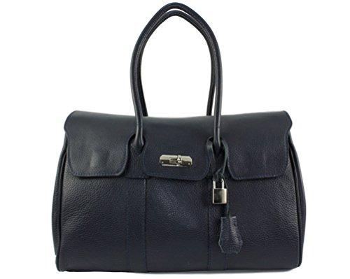 cuir sac lily sac main femme cuir à Bleu main lily cuir lily Marine Sac Italie sac tout sac lily cuir Coloris Lily Plusieurs femme cuir a Hv0Tq