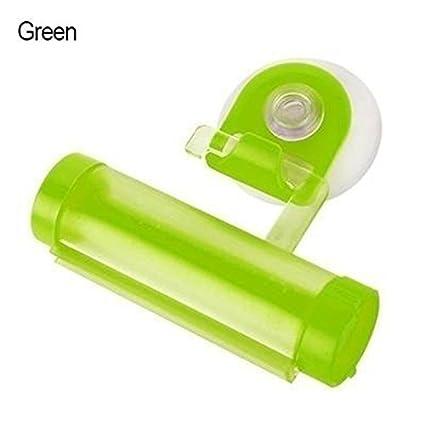 Dispensador de pasta dental con rodillo La mejor herramienta para maquillaje Exprimidor de tubo con rodillo