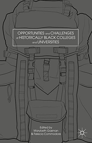 Search : Opportunities and Challenges at Historically Black Colleges and Universities