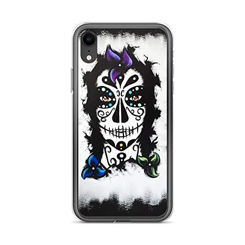 iPhone XR Case Anti-Scratch Phantasy Imagination Transparent Cases Cover La Catrina Fantasy Dream Crystal Clear]()