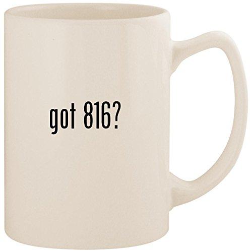 got 816? - White 14oz Ceramic Statesman Coffee Mug Cup