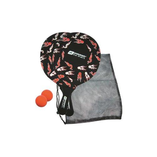 Schildkröt Fun Sports Neoprene Beachball Set, rot-schwarz 970054