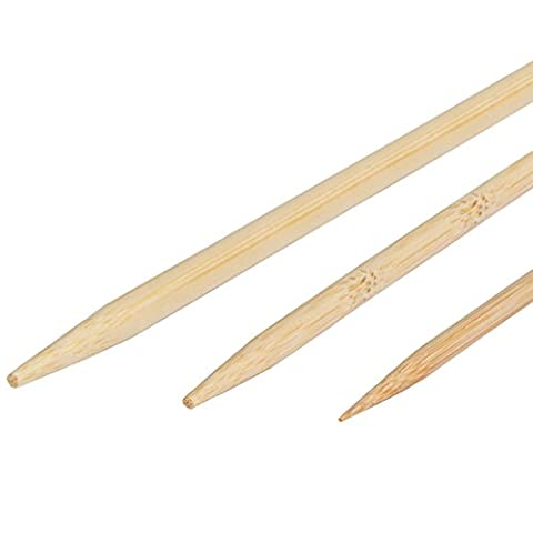 Multipurpose Bamboo Marshmallow Roasting Sticks Set of 140 PCS with 36in 30in & 12in Disposable Thick Wooden Campfire Barbecue Skewers for S'mores Hot Dog Kabobs, 100% Biodegradable