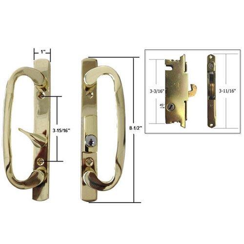 Technologylk STB Sliding Glass Patio Door Handle Set with...