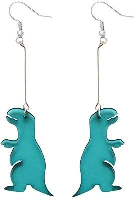 Dinosaur ear studs,Dinosaur earrings,dinosaur jewelry,stud earring,cute earring,animal earring,fun earring,minimalist earring,kawaii earring