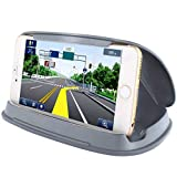Car Phone Mount, Car Cell Phone Holder for Samsung Galaxy S8, Nonslip Phone Holder for Car on Dashboard in Vehicle for iPhone 7 7 Plus...