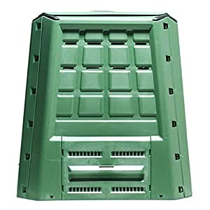 Compostiera da giardino Lt 370 per rifiuti organici: Amazon ...