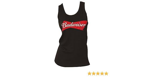 86df9e0d96f25a Budweiser Women s Tank Top M at Amazon Women s Clothing store