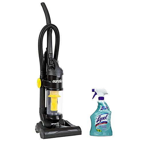 Eureka AirSpeed One Lightweight Bagless Upright Vacuum with Lysol All Purpose Cleaner, 32 Ounce