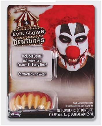Rotti Cariati Halloween Mostro Denti Bambini Inception Pro Infinite MOD.C Carnevale Adulti