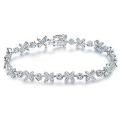 Two Tone Gold Natural Emerald Diamond Bracelet