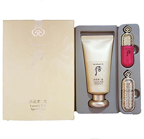 Spf10 Sun Protection Cream (The History of Whoo Luxury Bb(SPF20/PA++) Special Limited Gift Set with Lipstick &)