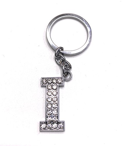 L BB Accessories Diamante Alphabet Letter Keyring