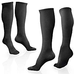 Bamboo Compression Socks (2 Pairs)