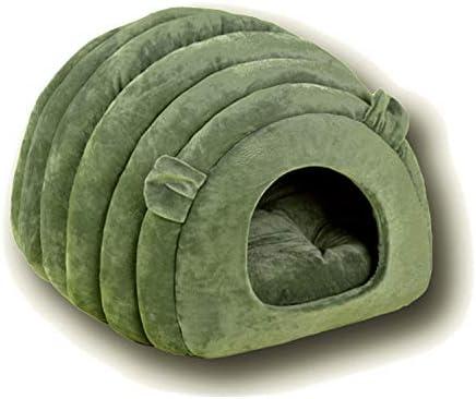DragonPad - Cesto para Gato, Forma de Oveja para Mascotas, Cachorros, Casas, Cama o Gatos, Bolsa de Dormir para Perros pequeños de compañía de tamaño Mediano: Amazon.es: Productos para mascotas