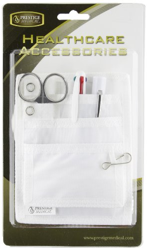 Prestige Medical Nurse Belt Loop Organizer Pal Kit - White by Prestige Medical
