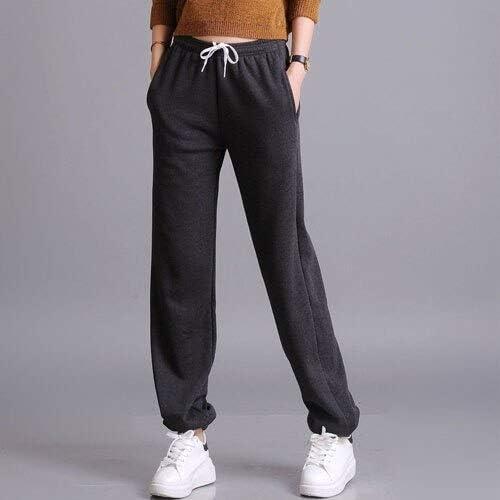 Dongwall Pantalones de chándal de Terciopelo para Mujer Pantalones ...