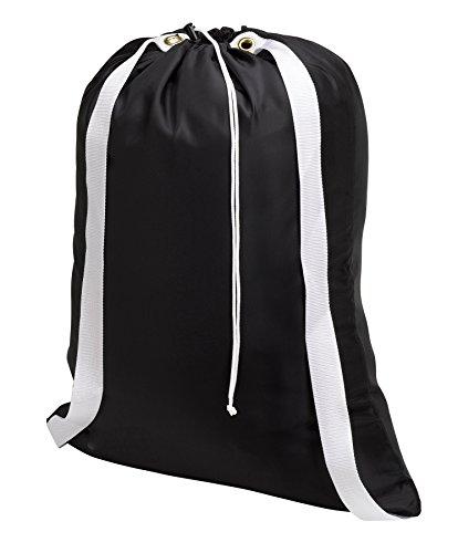 Backpack Laundry Bag Black drawstring product image