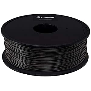 Monoprice premium 3d printer filament petg – black – 1kg spool, 1.75mm thick | fda food grade | ideal for utensils & dishware | for all petg compatible printers