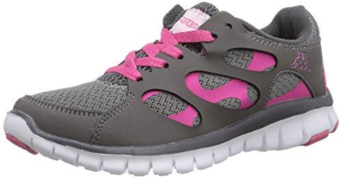 Fox Kappa Unisexe Chaussures De Sport Adulte Gris (1627 / Rose L')