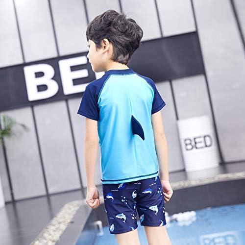Badeshorts Schwimmbekleidung Set Uv-Schutz Schwimmshirt JT-Amigo Baby Kinder 3tlg M/ütze