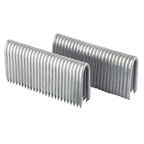 Freeman FS9G2 2 9-Gauge Galvanized Steel Fencing Staples (1000 pack) Rust & Corrosion Resistant Staples for Fencing & Outdoor Use - Galvanized Steel Fencing