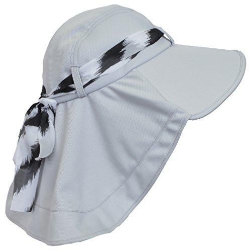 Sun Blocker Women's Sun Hat Large Brim Beach Travel Fishing Hat with Neck Flap by Sun Blocker (Image #2)