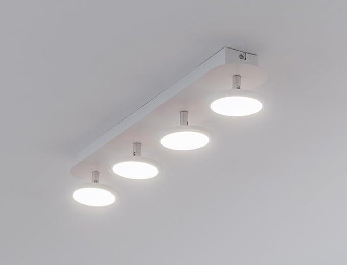 Plafoniere Con Brillantini : Bent s plafoniera a led da soffitto o parete con faretti