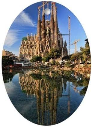TiuKiu La Sagrada Familia, Barcelona, España Oval Ornamento – 2.3