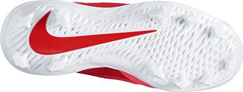 Nike Womens Hyperdiamond 2 Pro Mcs Softball Tacchetti Rosso / Bianco
