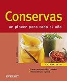 Conservas/preserves: Un Placer Para Todo El Ano (Cocina Facil) (Spanish Edition)