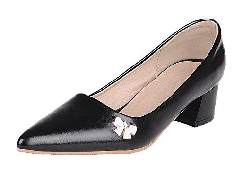 Cuir Femme Tire Chaussures Pointu Pu Agoolar Couleur L Unie qxEdgYw7