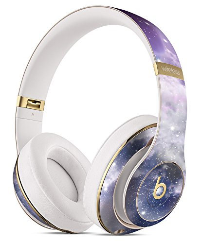 Sparkly Space DesignSkinz Full-Body Skin Kit for The Beats by Dre Studio Remastered Wireless Headphones/Ultra-Thin/Matte Finished/Protective Skin Wrap