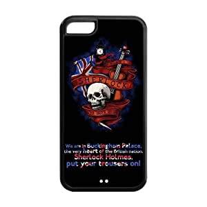 Creative Skull Sherlock iphone 5/5s iphone 5/5s New Style Cover Case