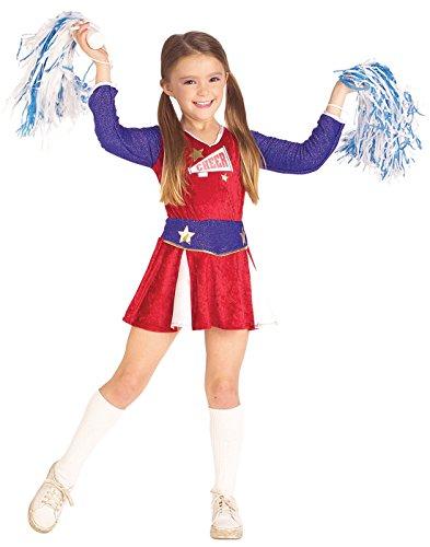 Rubies Cheerleader Child Costume, Medium