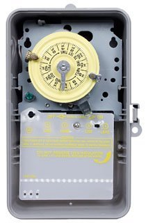 Intermatic T104P DPST Time Clock, 24 hour, 208V to 277V, ()