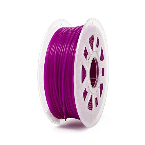 3 Mm Crossover - Gizmo Dorks 3mm (2.85mm) PLA Filament 1kg / 2.2lb for 3D Printers, Translucent Purple