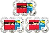Scotch ljjm 3850-6 Heavy Duty Shipping Packaging Tape, 3'' Core, 1.88'' x 54.6 Yards 18 Rolls