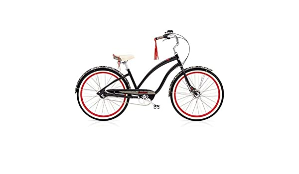 Electra Fashion Queen of Hearts 3i Mujer bicicleta 26 pulgadas ...