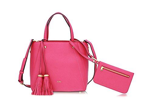 bonia-womens-plum-soft-satchel