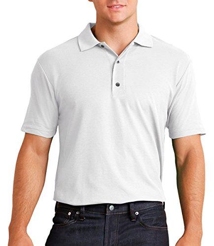 Gildan Performance Adult 4.7 Oz. Jersey Polo, 3XL, White